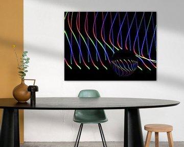 Die Kunst der Linien #7 von Lex Schulte