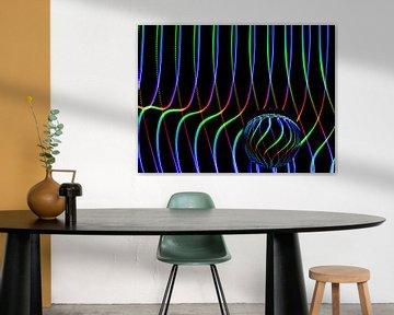 Die Kunst der Linien #8 von Lex Schulte