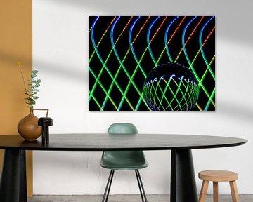 Die Kunst der Linien #9 von Lex Schulte