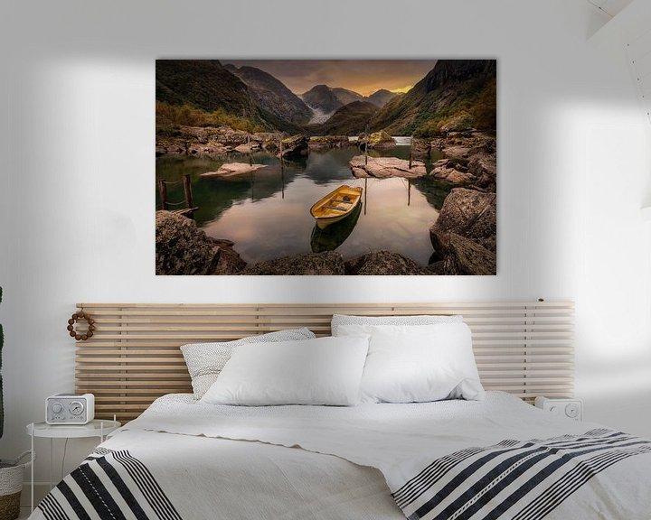 Sfeerimpressie: Noorwegen - Bondhusvatnet van Patrick Rodink