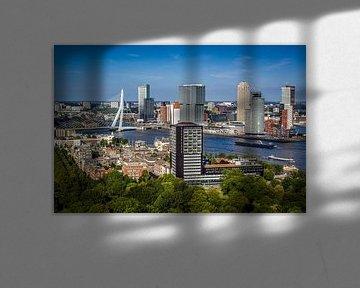 Skyline van Rotterdam van Aiji Kley