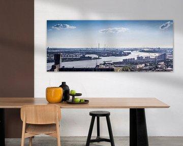 Der Hafen von Rotterdam von Aiji Kley