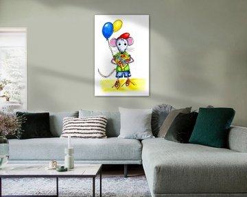 Kleine Maus zum Geburtstag von Ivonne Wierink