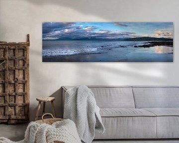 Panorama aan de kust van Wales, Groot Brittannië van Rietje Bulthuis