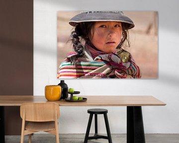 Peruanisches Mädchen von Amy Verhoeven