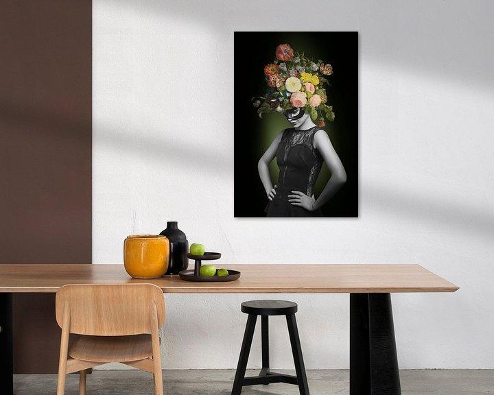 Beispiel: I am Woman, Watch me Bloom von Marja van den Hurk