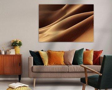 Sanddünen in der Wüste Sahara