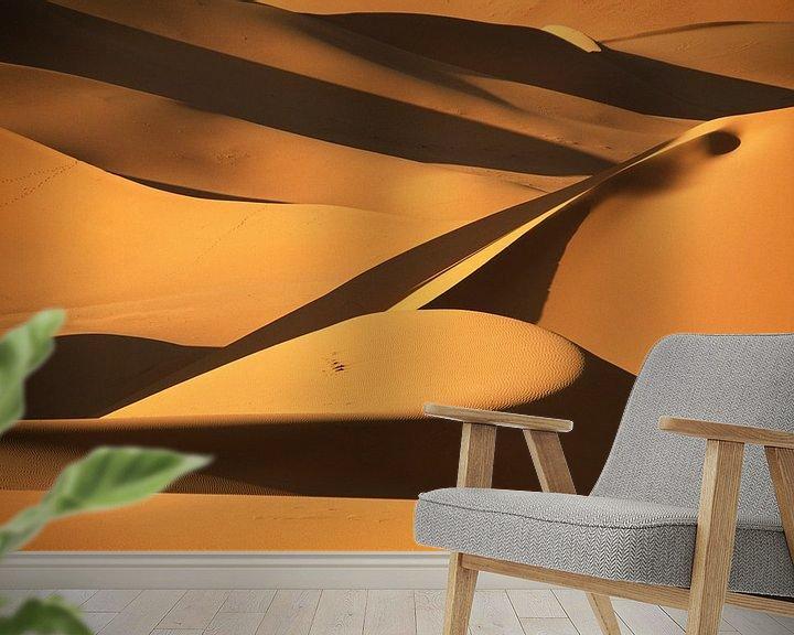 Beispiel fototapete: Sanddünen in der Wüste Sahara von Frans Lemmens