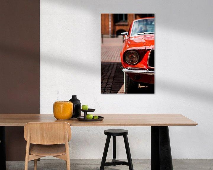 Sfeerimpressie: De rode auto van Franziska Pfeiffer