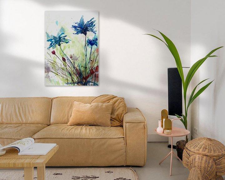 Beispiel: Blumen des Feldes von Angel Estevez