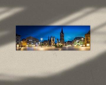 Hall-Saale Panorama van Martin Wasilewski
