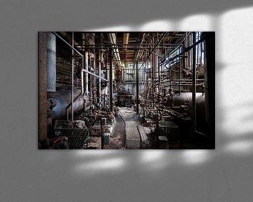 Verlassene und dunkle Industrie von Roman Robroek