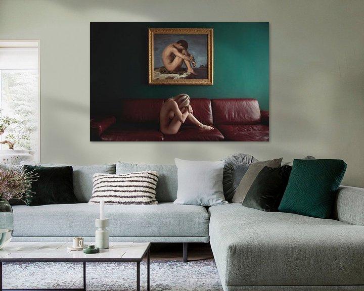 Beispiel: Frau auf der Couch, Stefano Miserini von 1x