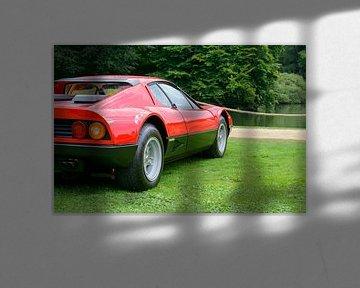 Ferrari 512 BB of Berlinetta Boxer Italiaanse jaren zeventig sportwagen van Sjoerd van der Wal