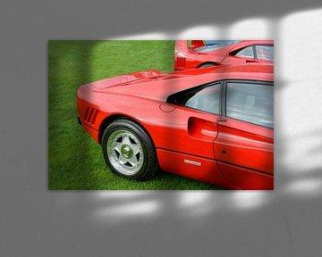 Ferrari 288 GTO 1980 supercar en rouge Ferrari sur Sjoerd van der Wal