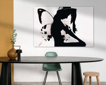 vrouw Butterfly, Therese Blom van 1x