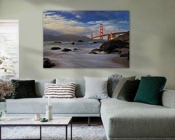 Golden Gate Bridge, Evgeny Vasenev van 1x