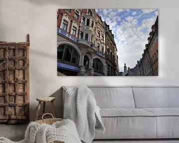 Riga, oude centrum van Maarten  van der Velden
