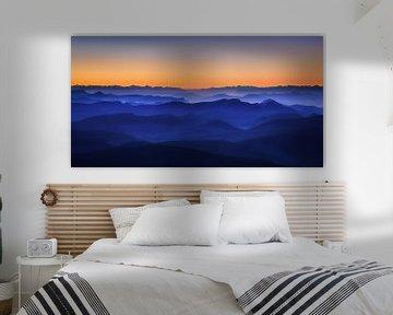 Misty Mountains, David Bouscarle van 1x