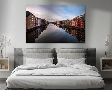 Trondheim, Noorwegen, Par Soderman van 1x