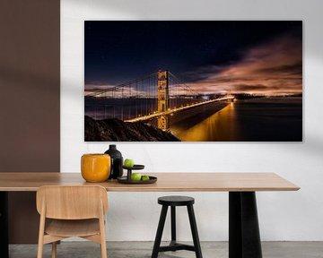 Golden Gate auf Sterne, Javier de la von 1x