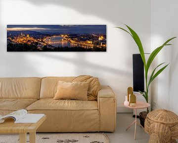 Panorama van Boedapest, Thomas D Mørkeberg van 1x