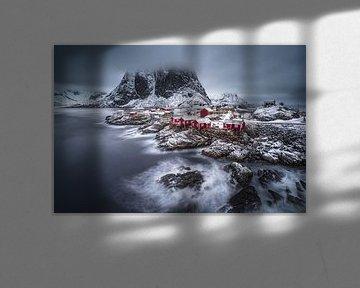 winter Lofoten eilanden, Andy Chan van 1x