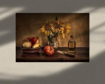 Girasoles en la cocina ..., Juan Luis Seco sur 1x