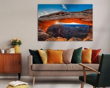 Sonnenaufgang am Mesa Arch, Michael Zheng von 1x