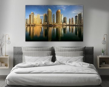 Panorama-Dubai Marina, Mohammed Shamaa von 1x