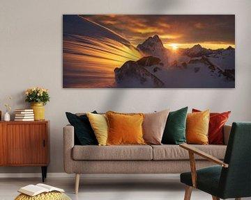 Glacier Licht, Yan Zhang van 1x