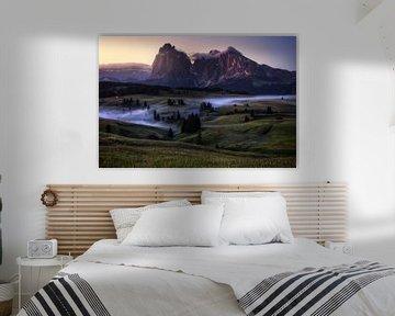 Een Alpine Morning, Daniel Gastager van 1x