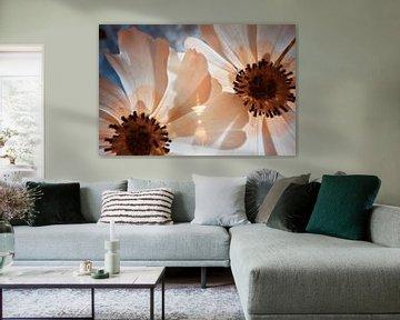 Bloemen macro infrarood van Lars Beekman