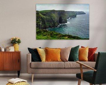 Cliffs of Moher van Laurens Kleine