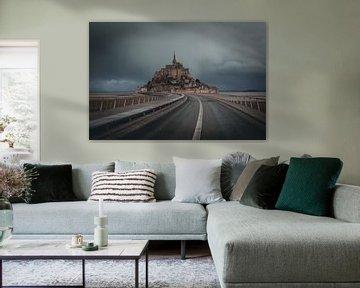 Mont Saint Michel von Arnold Maisner