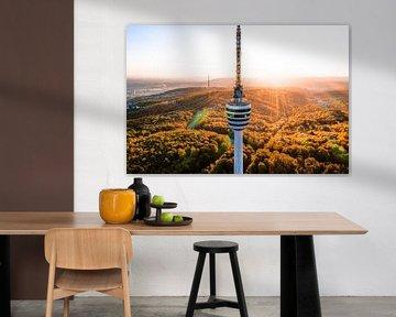 Stuttgart tv-toren van Hussein Moussaoui