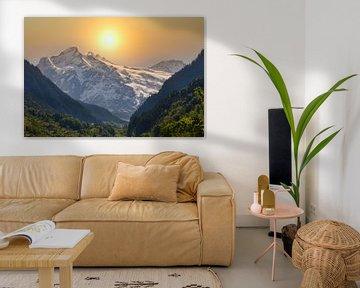 Een gebergte in Zwitserland van Wendy Tellier - Vastenhouw