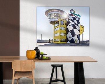 Tower des Sachsenring - Rennstrecke bei Chemnitz von Michael Moser