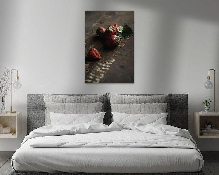 Sfeerimpressie: Aardbeien van Anoeska Vermeij Fotografie