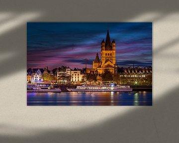 Groß St. Martin - Köln von Jens Korte