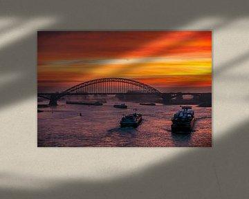 Scheepvaart op de Waal van Henk Kersten