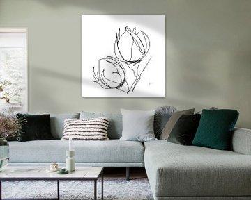 Rosenknöpfe von Ankie Kooi