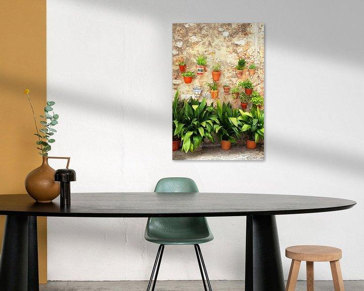 Sfeerimpressie: Muur met planten van Inge Hogenbijl