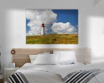 Leuchtturm im Sommer auf Sylt von Markus Lange