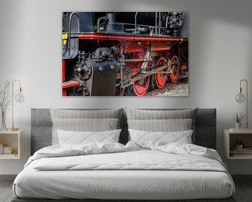 Details einer Dampflok von Jan Schuler