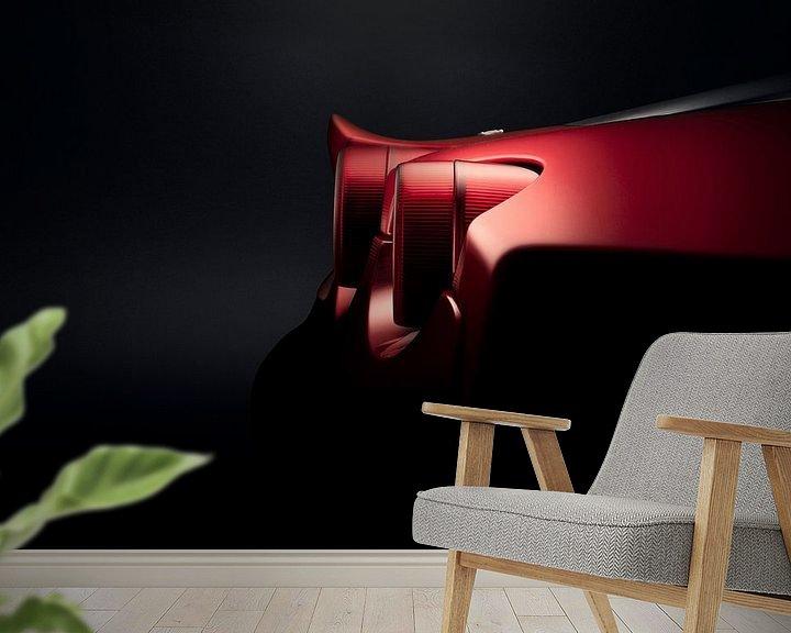 Sfeerimpressie behang: Ferrari F430 F1 Coupe van Thomas Boudewijn