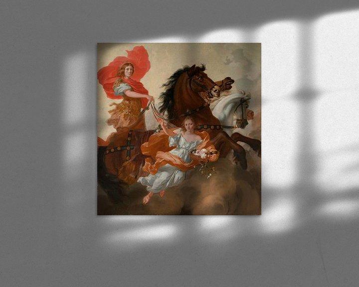 Beispiel: Apollon und Aurora, Gerard de Lairesse