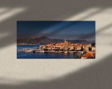 Korčula, Kroatië van Adelheid Smitt