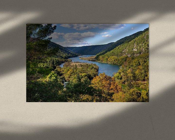 Sfeerimpressie: Krka Nationaal Park, Kroatië van Adelheid Smitt