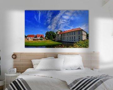 Westerholt Panorama met wolken van Edgar Schermaul